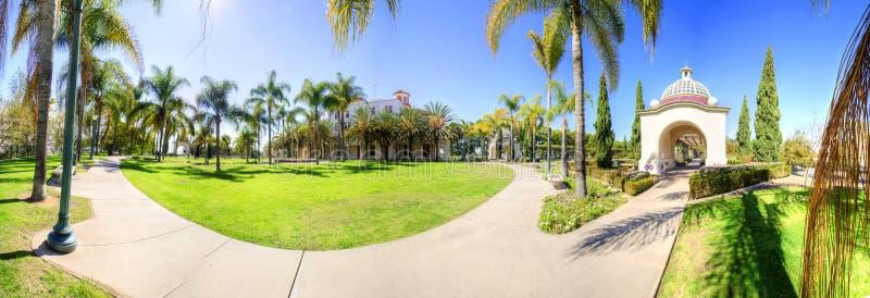 Parque del balboa, San Diego, California fotos de archivo libres de regalías