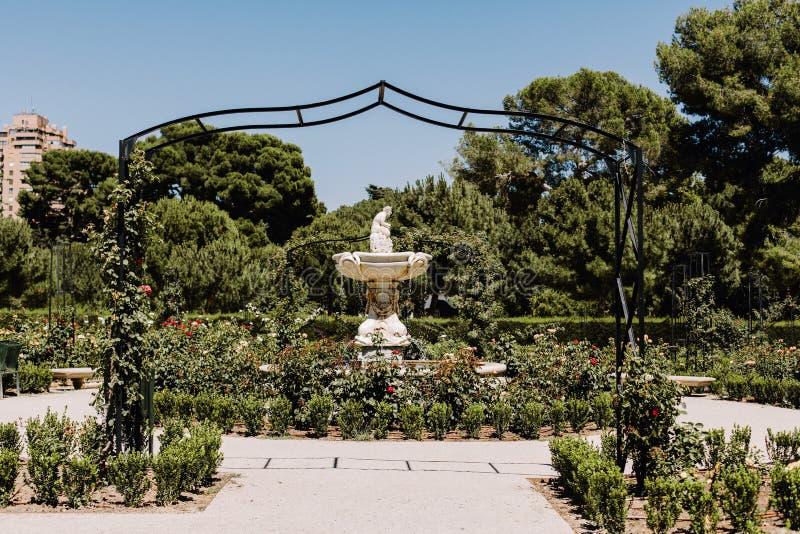Parque del Buen Retiro à Madrid, Espagne images stock