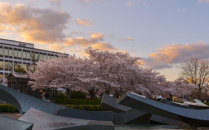 Parque del capitolio del estado de Oregon imágenes de archivo libres de regalías