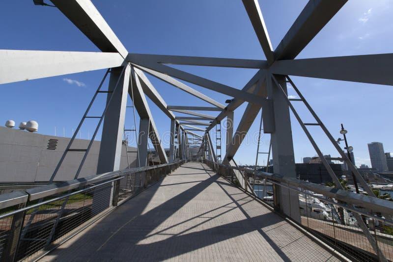 Parque del fórum, puente fotos de stock
