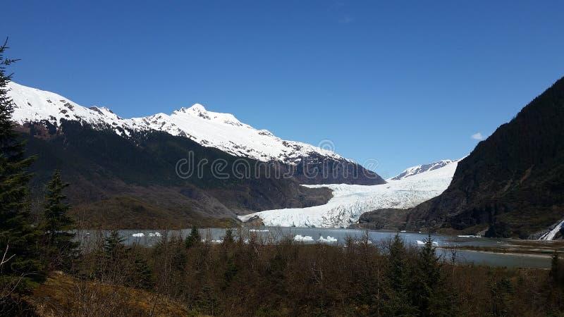 Parque del glaciar de Mendenhall imagen de archivo libre de regalías