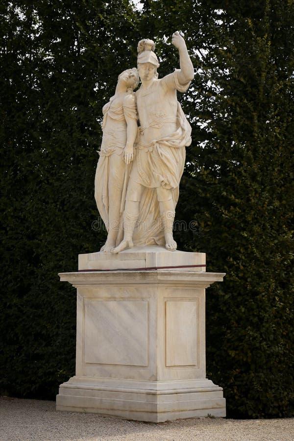 Parque del jardín de palacio de Schonbrunn, Viena imágenes de archivo libres de regalías