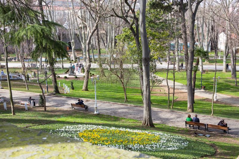 Parque del lhane del ¼ de GÃ, Estambul foto de archivo libre de regalías
