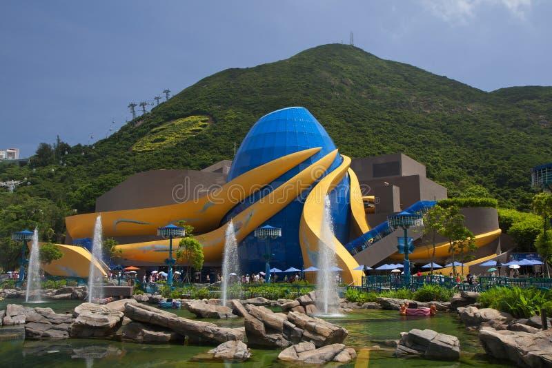 Parque del océano de Hong-Kong foto de archivo libre de regalías