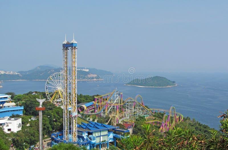 Parque del océano, Hong-Kong imagen de archivo libre de regalías