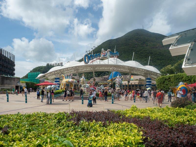 Parque del oc?ano, Hong-Kong foto de archivo libre de regalías