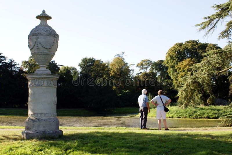 Parque del paisaje de Croome, Worcester, Inglaterra imagenes de archivo