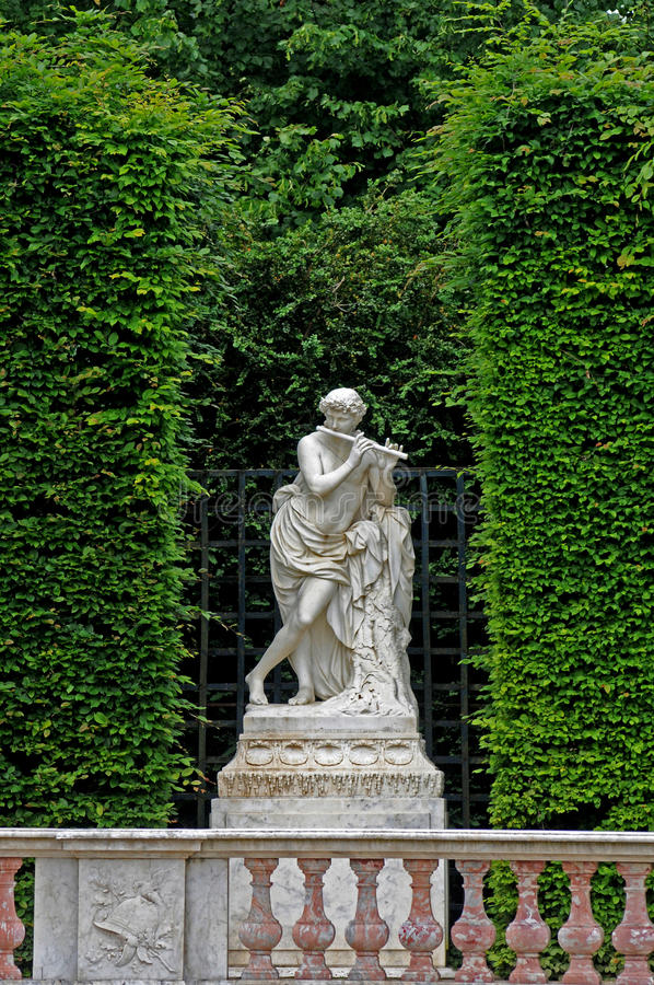 Parque del palacio de Versalles fotografía de archivo libre de regalías