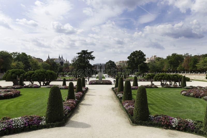 Parque del Retiro i Madrid royaltyfri bild