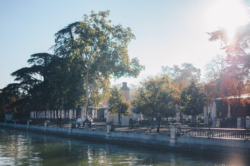 Parque del Retiro, Madrid foto de stock