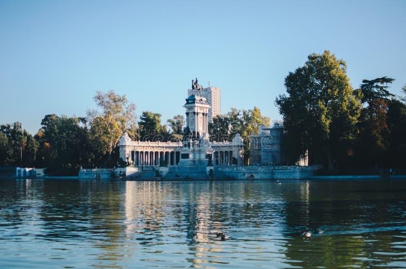 Parque del Retiro, Madrid imagem de stock royalty free