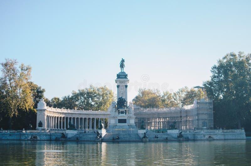 Parque del Retiro, Madrid imagens de stock