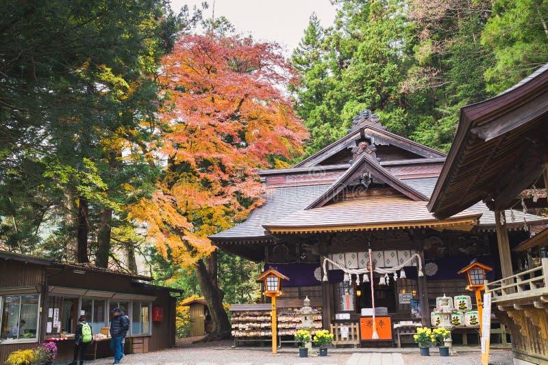 Parque del sengen de Arakurayama imagenes de archivo