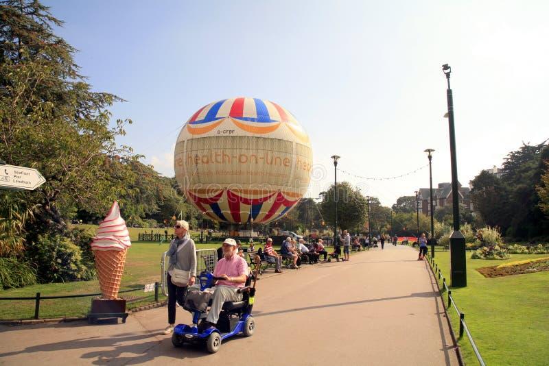 Parque del sur, Bournemouth, Dorset foto de archivo libre de regalías