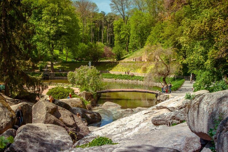 Parque dendrological nacional foto de archivo libre de regalías