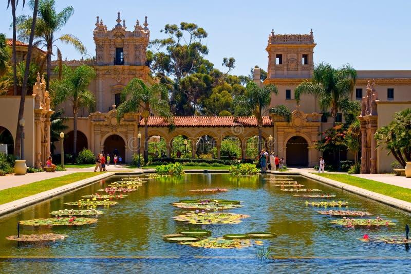 Parque do balboa em San Diego imagens de stock royalty free