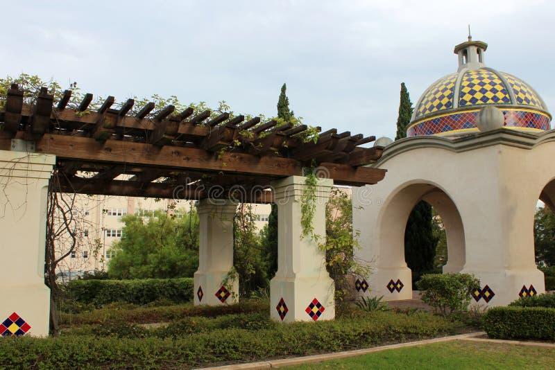 Parque do balboa, San Diego fotografia de stock