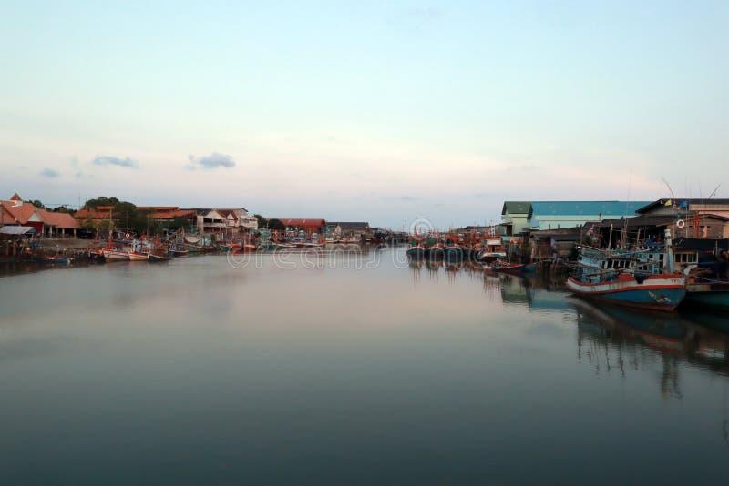Parque do barco de pesca fotos de stock