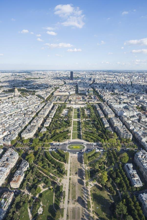 Parque do Champ de Mars fotografia de stock royalty free