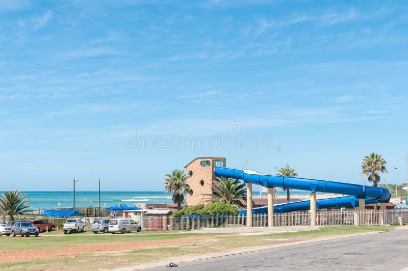 Parque do entretenimento da água na baía de Jeffreys imagem de stock royalty free