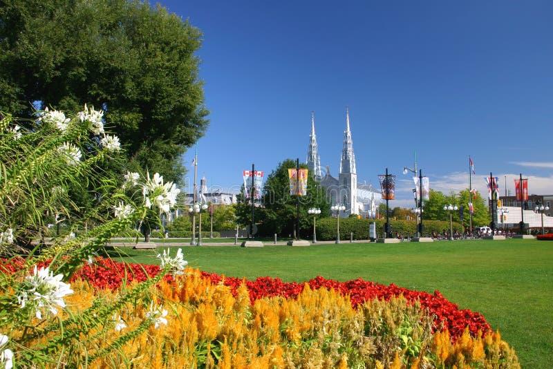 Parque do monte de Majorâs em Ottawa imagens de stock