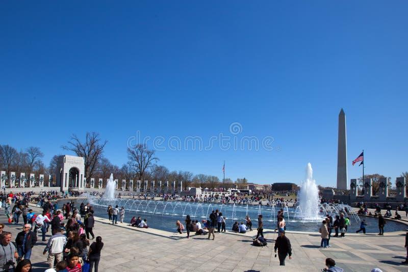 Parque do National Mall fotos de stock royalty free