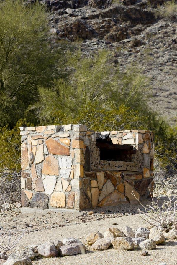 Parque do norte da montanha, Phoenix, AZ imagem de stock