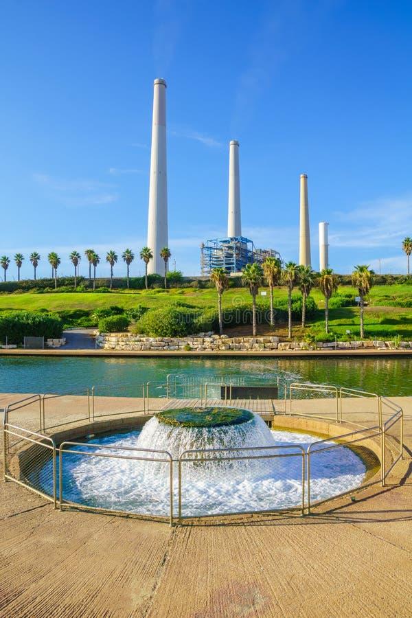 Parque do rio de Hadera imagem de stock royalty free