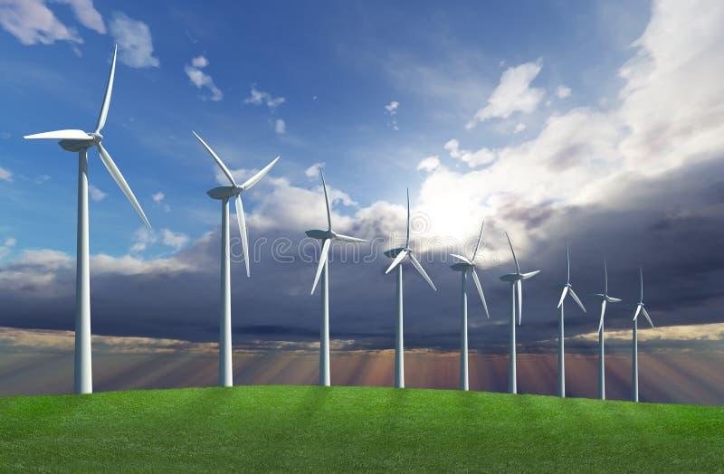 Parque do vento imagens de stock royalty free