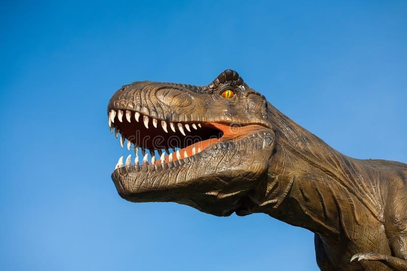 Parque dos dinossauros imagem de stock royalty free