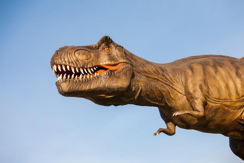 Parque dos dinossauros imagens de stock royalty free