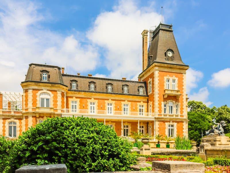 Parque e palácio Evxinograd ou Evksinograd Varna, Bulg?ria fotografia de stock