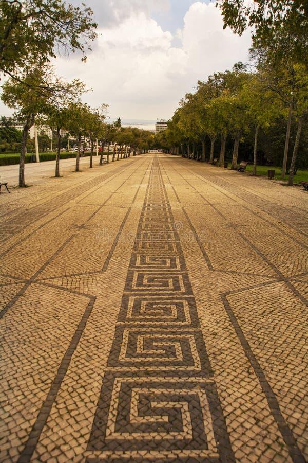 Parque Eduardo VII стоковое изображение rf