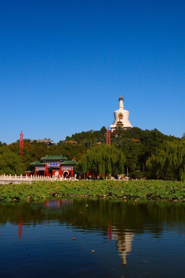 Parque em Beijing fotografia de stock royalty free