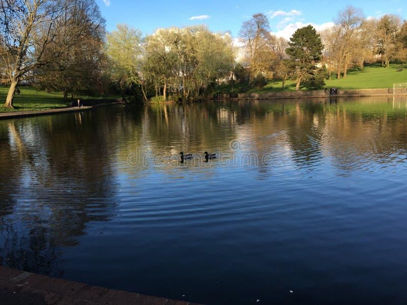 Parque em Bristol foto de stock