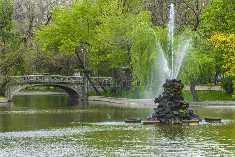 Parque em Bucareste imagens de stock royalty free