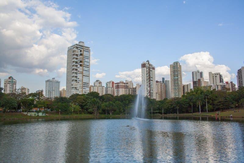 Parque em Goiania foto de stock royalty free