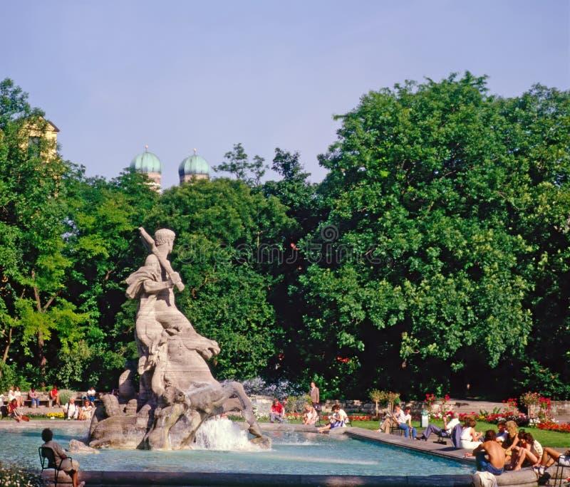Parque em Munich imagem de stock