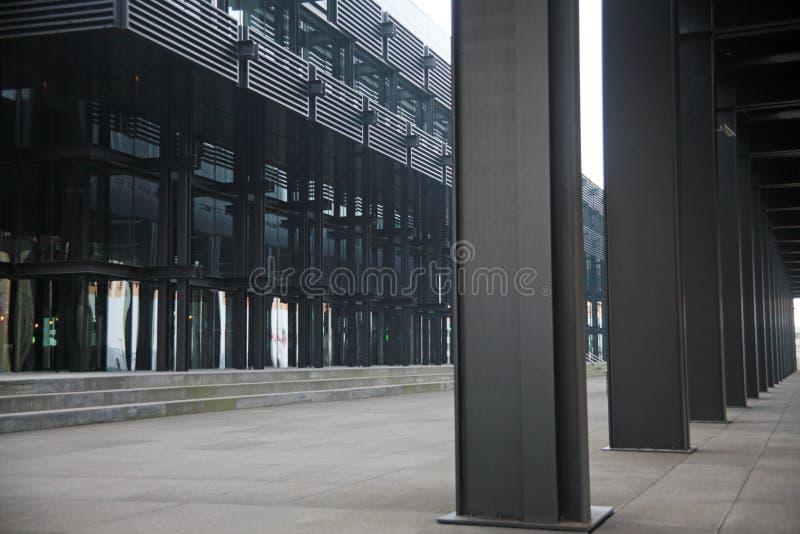 Parque empresarial imagen de archivo