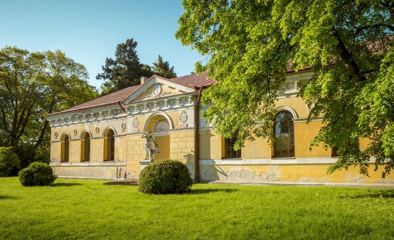 Download Parque en Lancut, Polonia imagen de archivo. Imagen de recorrido - 100528141