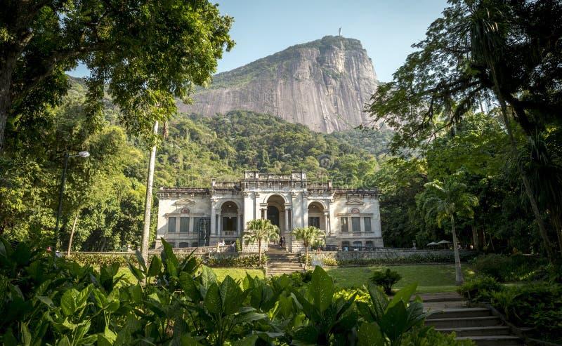 Parque Enrique Lage en Rio de Janeiro, Brésil photographie stock libre de droits