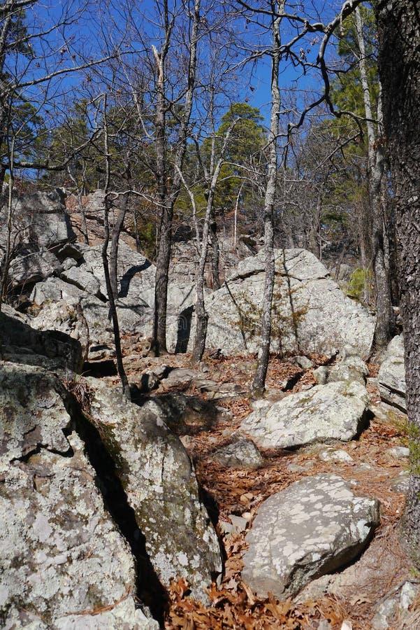 Parque estadual da caverna do ladrão foto de stock