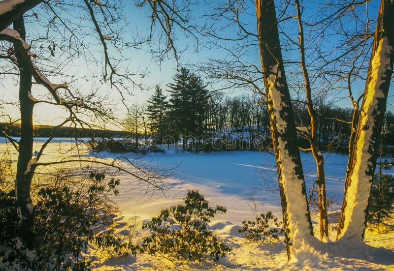 Parque estadual de Harriman, Estados de Nova Iorque imagens de stock