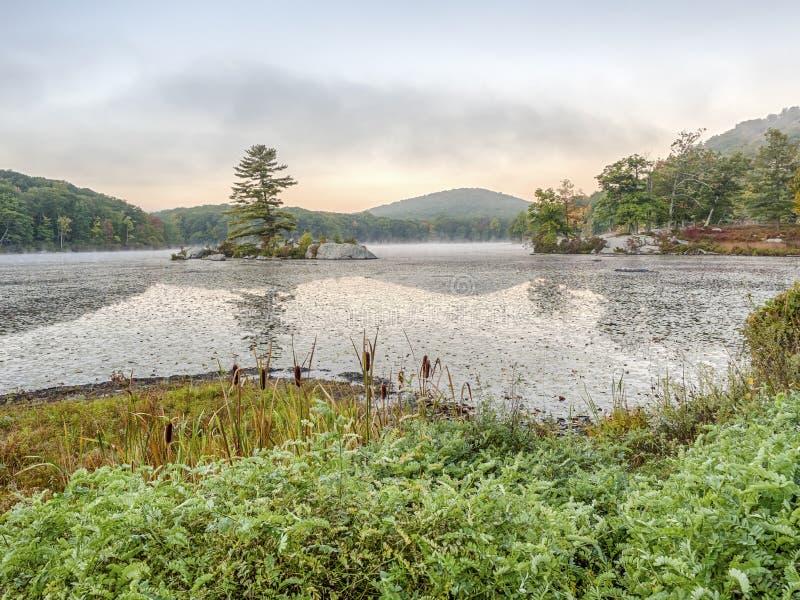 Parque estadual de Harriman, outono dos Estados de Nova Iorque fotografia de stock royalty free
