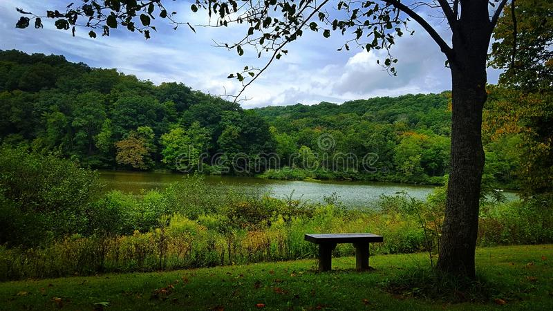 Parque estadual do guaxinim fotografia de stock royalty free
