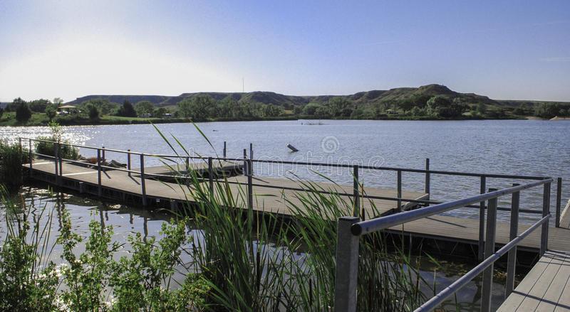 Parque estadual do lago Meade, Kansas fotos de stock