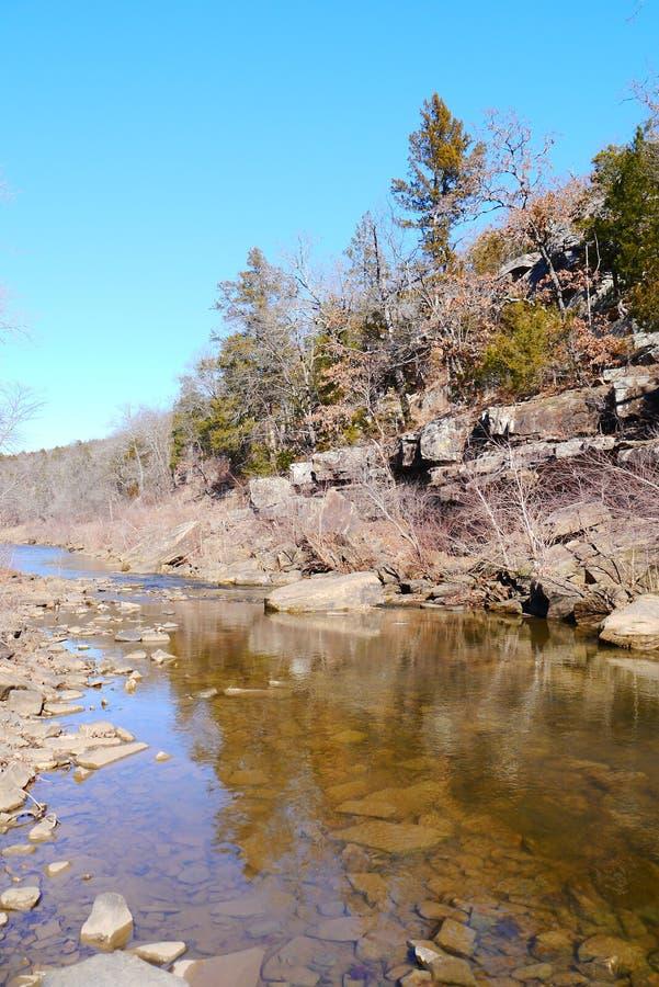 Parque estadual dos montes de Osage fotos de stock royalty free