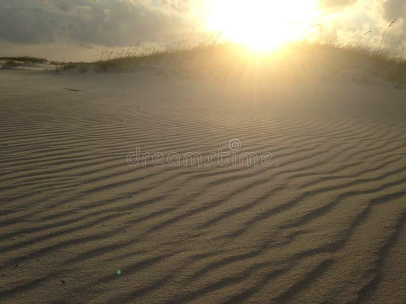 Parque estadual fundido vento da chave de Perdido da areia da praia fotografia de stock royalty free