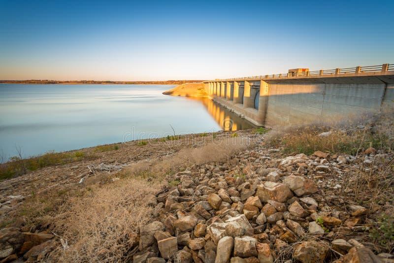 Parque estadual Kansas de Fall River imagens de stock
