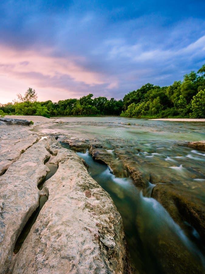 Parque Estadual McKinney Falls fotografia de stock